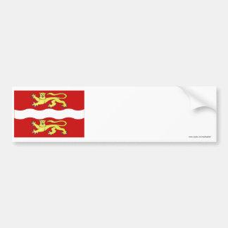 Seine-Maritime flag Bumper Sticker