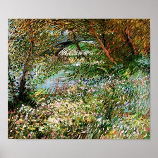 Seine, Pont de Clichy in Spring, Van Gogh