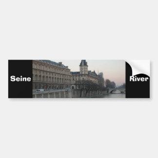 Seine River Bumper Stickers