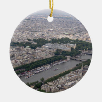 Seine River, Paris -  Christmas Tree Ornament