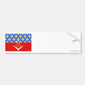 Seine-Saint-Denis flag Bumper Sticker
