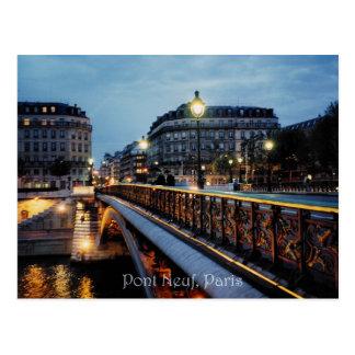 Seine Scene Postcard