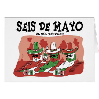 Seis de Mayo Greeting Card