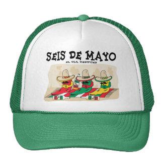 Seis De Mayo Trucker Hats