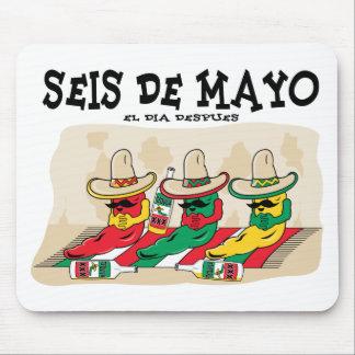 Seis De Mayo Mousepads