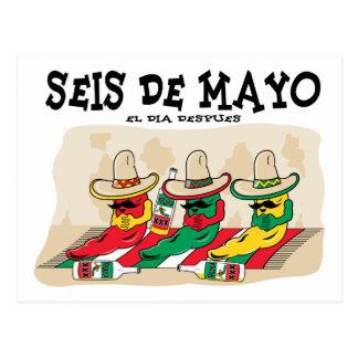 Seis De Mayo Postcard