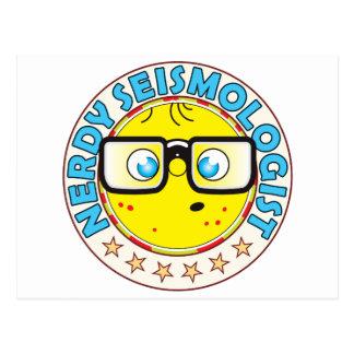 Seismologist Nerdy Postcard