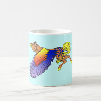 Seize griffin gryphon mug