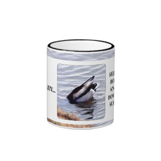 Seize opportunity with both hands & kill it ringer mug