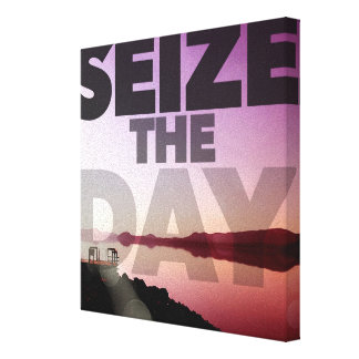 Seize The Day Canvas Print