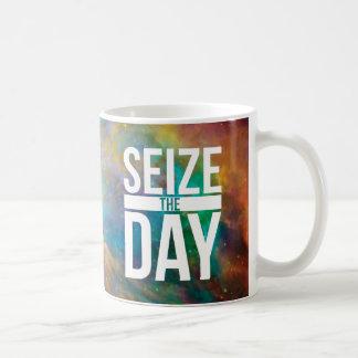 Seize the Day Nebula Coffee Mug