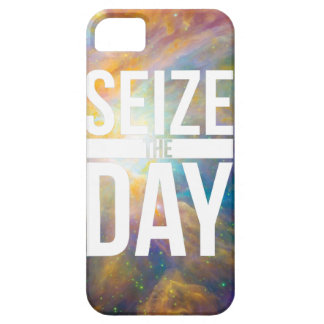 Seize the Day Nebula iPhone 5 Covers