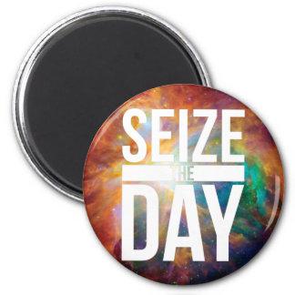 Seize the Day Nebula Magnet