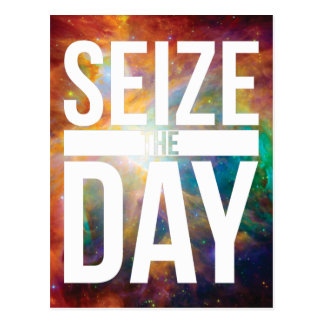 Seize the Day Nebula Postcard