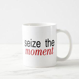 Seize The Moment Red Mug