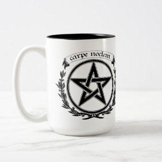 Seize the Night.. Two-Tone Coffee Mug