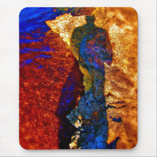 'Seizing the Time' Mouse Pad