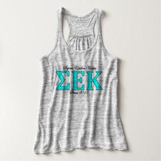 SEK Greek Logo Flowy Tank