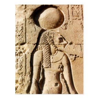 Sekhmet Lioness Hieroglyphic Postcard