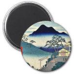 Seki by Ando, Hiroshige Ukiyoe Refrigerator Magnet