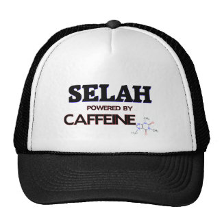 Selah powered by caffeine hats