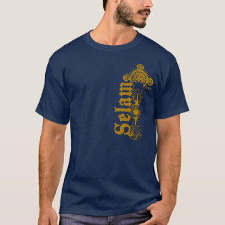 Selam – Hello - in Gold T-Shirt