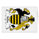 Selby Family Crest Greeting Cards