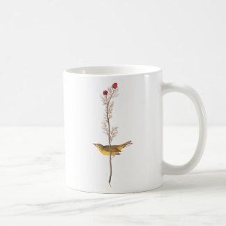 Selby's Flycatcher Audubon Birds of America Basic White Mug
