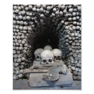 Seldec Ossuary Shrine, Kutna Hora Photo Print