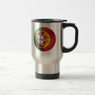 Selecção das Quinas Fuetbol Bola Stainless Steel Travel Mug