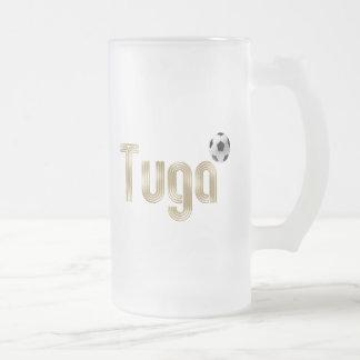 Selecção das Quinas - Tuga Fá de Portugal Frosted Glass Mug