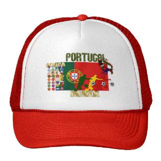 Selecção Portuguesa - 32 Paises Futebol Arte Hats