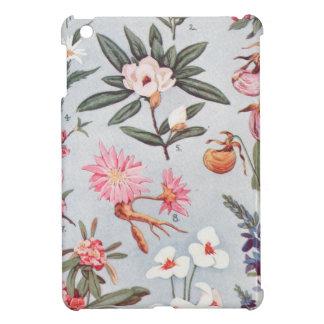 Selected State Flowers Vintage Art Illustration iPad Mini Case