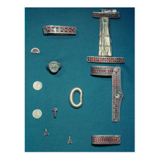 Selection of jewellery postcard