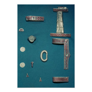 Selection of jewellery poster