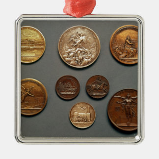 Selection of medals christmas ornament