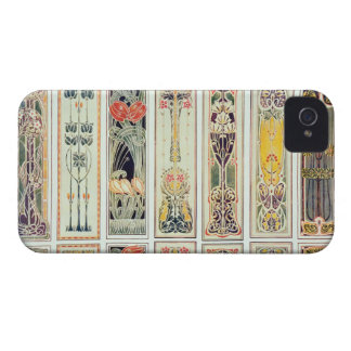 Selection of panel designs, plate IX from 'Modern iPhone 4 Case