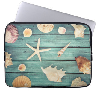 Selection Of Seashells Laptop Sleeve