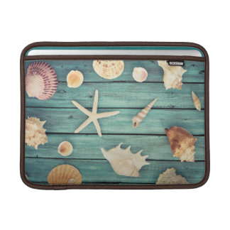 Selection Of Seashells MacBook Sleeve