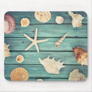 Selection Of Seashells Mouse Mat