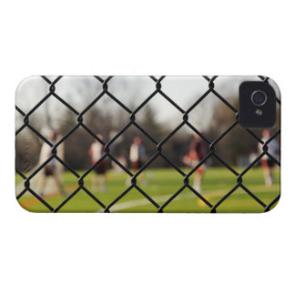 Selective focus on the net iPhone 4 cases