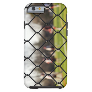 Selective focus on the net tough iPhone 6 case