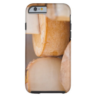 Selective focus photograph of cheeses in cheese tough iPhone 6 case