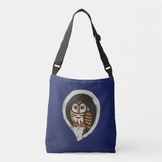 Selene the Owl All-Over-Print Bag