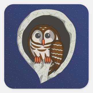 Selene the Owl Sticker