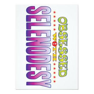 Selenodesy 2 Obsessed 14 Cm X 19 Cm Invitation Card
