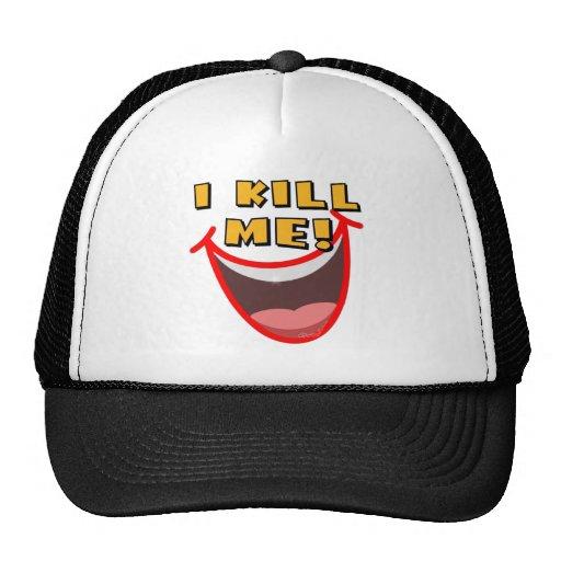 Self Amused Mesh Hats