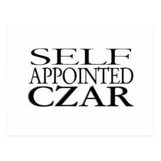 Self Appointed Czar Postcard