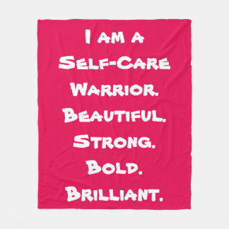 Self-Care Warrior Blanket