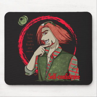 Self Confidence Mouse Pad